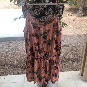 Floral Romper New with Tags Size L
